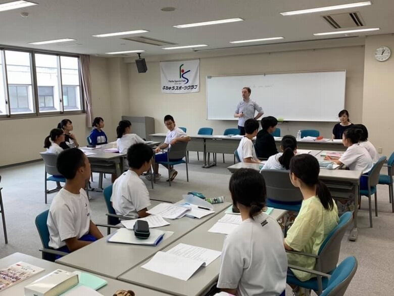 novel. English Schoolレッスンの様子1