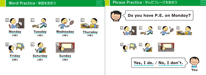 kimini英会話「ばっちり小学生英語」の教材2