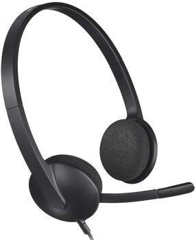 オンライン英会話ヘッドフォン「Logicool H340R」
